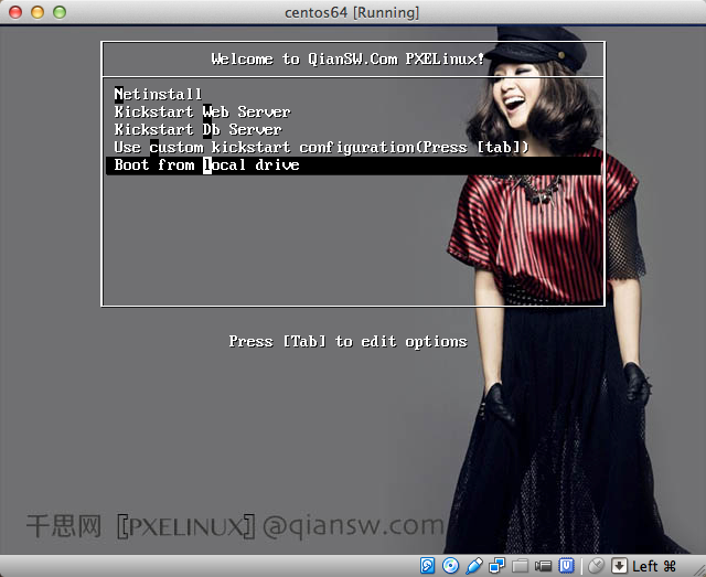 pxe启动pxelinux