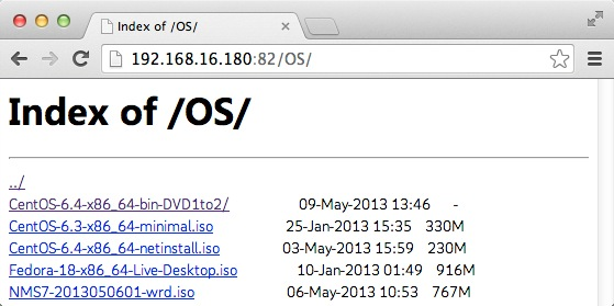 nginx打开目录浏览功能