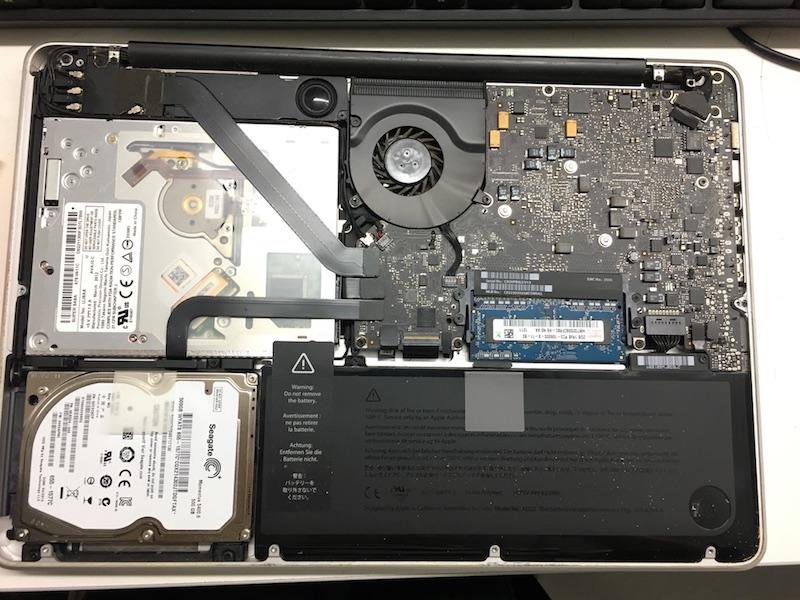macbookpro拆机